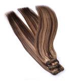 Trama dei capelli umani di Remy di due toni