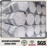 Taille différente de pipe galvanisée d'acier du carbone de soudure d'amorçage