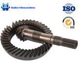 정면 드라이브 차축 나선 비스듬한 기어에 있는 BS5054 11/40 정밀도 금속 트랙터 말 힘 120-140 자동차 부속