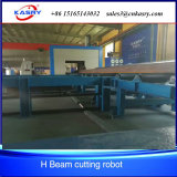 1200 мм света справиться робот, плазменной резки балки просверлите линию для конструкционной стали