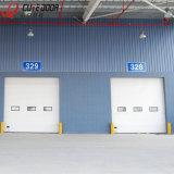 Изолированный продаж электрических плоскостей высокая скорость промышленного верхней двери гаража
