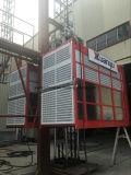 Предварительный тип машинное оборудование Xmt конструкции конструкции Elevator/2.7t клетки двойника подъема конструкции Sc270/270
