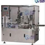 Polvo automática máquina de llenado con la limitación de obstrucciones para viales