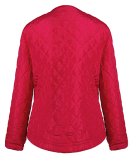 Casaco de mola acolchoado de algodão com design feminino