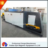 Separador magnético automático de los metales no ferrosos
