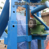 Transportador Industrial de Tuberías Augar Spiral Cement Flexible Screw Conveyor