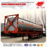 3 d'essieux d'OIN 40FT de conteneur de camion-citerne remorque semi pour le Kenya