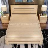 固体木のベッドの現代ダブル・ベッド(M-X2344)