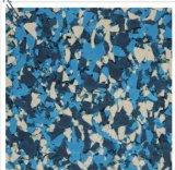azulejo de suelo de goma suave del 1m, azulejo de goma Desgastar-Resistente, azulejo de goma del 1m