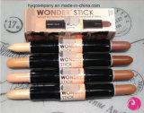 4개의 색깔 Concealer 펜 두 배 측 경이 지팡이 Concealer