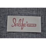 Revestimento protetor macio etiquetas tecidas da marca para a roupa da tela
