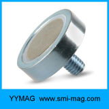 Imán del crisol del neodimio de la rosca de tornillo M3/M4/M6/M8