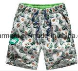 Nylon ткань всходит на борт краткостей, краткостей пляжа человека напечатанных стартом