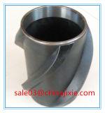 金属のリングが付いている螺線形の刃の合成の熱可塑性の堅いセントラライザー
