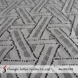 Espessura de tecido de algodão rendas para roupa (M3194)