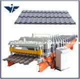 Etapa de telhas de cerâmica de alta qualidade máquina de formação de rolos de folhas