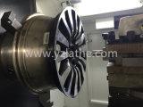 Torno Wrc26 do CNC do reparo da borda da roda da liga do carro da máquina de polonês da roda