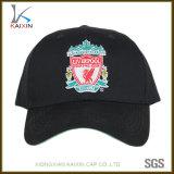 カスタム刺繍6のパネルの綿の野球帽の帽子