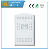 Luz de calle al aire libre solar del sensor de movimiento de la alta calidad 15W LED (HFJ5-15)