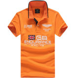 Camisa personalizada de alta calidad diferentes colores competir con auto polo bordado