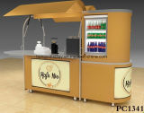 Idéias agradáveis do projeto do quiosque do alimento do projeto para o quiosque do alimento da alameda