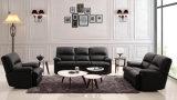 Sofa commercial moderne plus vendu de Recliner de cuir de salle de séjour réglé (HC689)