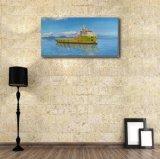 Toile Peinture à l'huile du bateau d'expédition