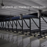 Pubblicità delle stazioni di servizio esterne di alluminio che fanno scorrere il tabellone per le affissioni Lightboxes di media LED del tessuto della bandiera di immagine degli annunci