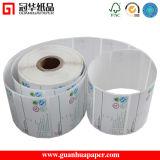 Marquer les fournisseurs étiquette thermique blanche d'étiquettes et les marquer