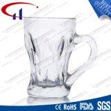 130ml heet verkoop de Duidelijke Kop van de Koffie van het Glas (CHM8146)