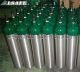 Cilindro de alumínio do oxigênio E com a válvula Cga870