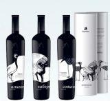 bottiglie del Bordeaux di vetro di vino dell'uva della bottiglia del pacchetto del vino della bottiglia di vetro della radura del whisky 750ml per Hotsale