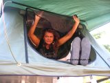 Kampierendes Schlussteil-Auto-Zelt