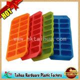 Cassetto di ghiaccio su ordinazione del silicone, cassetto di ghiaccio di gomma di promozione (TH-bg002)