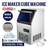 60kg/jour Ice Cube Maker supermarchés de la machine 40 cas Restaurant contrôle numérique