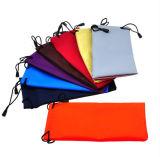 Sacos de couro e bolsa de tecido de óculos macios (X024)