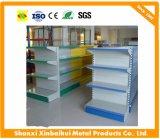 Estante de madera de la librería de cadena con precio estándar del supermercado