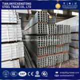 Tube carré en acier mince du mur 80X80 avec la norme d'ASTM