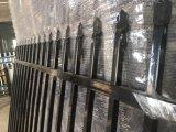 2100mm x 2400 mm a nódoa pólvora negra lanças cravadas Garrison Picket Tubular painéis da Barragem