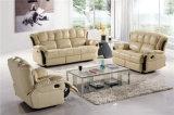 余暇のイタリアの革ソファーの家具(756)