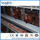 Jaula de la granja de pollo de la capa del huevo de 4 gradas