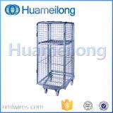 Het pakhuis vouwde de Fabrikant van de Container van het Broodje van het Netwerk van de Draad van de Veiligheid