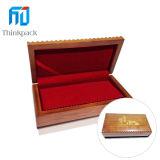 Rectángulo de moneda de madera del rectángulo caliente de calidad superior de la venta