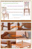 نوع ذهب لون قابل للتراكم [سليد ووود] [شفري] قاعة رقص حزب حادث كرسي تثبيت