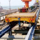 Charriot motorisé de chemin de fer pour le chantier naval