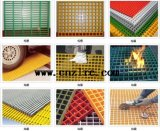 FRPの正方形の網38X38、40X40、50X50、30X30、等に火格子を付ける2018最も熱い販売GRP
