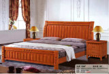 Деревянная мебель спальни, таблица кровати бортовая, дрессер, кровать (6013)