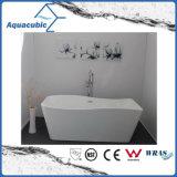 목욕탕 백색 독립 구조로 서있는 아크릴 욕조 (AB1552W-1500)