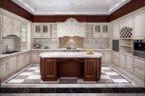 De Welbom do projeto da madeira contínua armário 2015 de cozinha novo