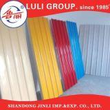 Strati d'acciaio ondulati rivestiti di colore/preverniciato tetto